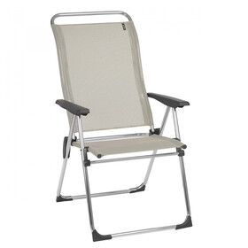Lafuma Mobilier Alu Cham Camping Chair with Cannage Phifertex, seigle